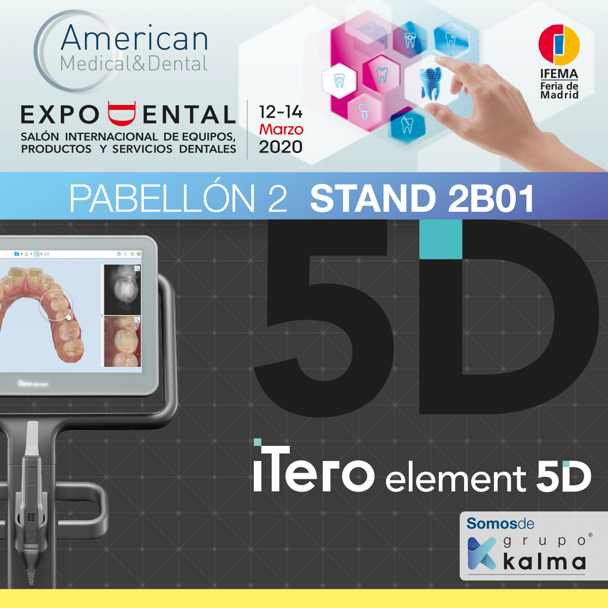 iTero American M&D en Expodental 2020