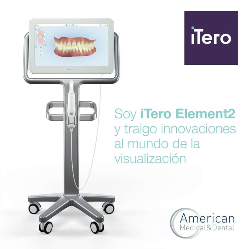 Escaner intraoral iTero Element 2