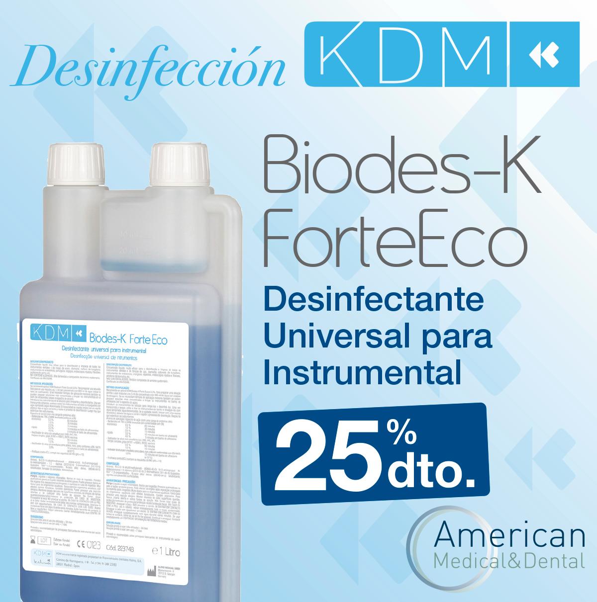 desinfectante para instrumental