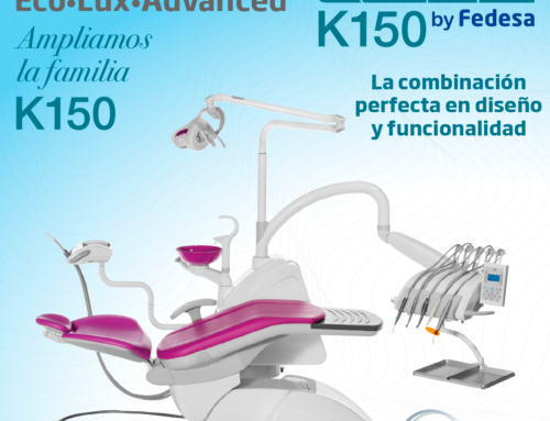 Nueva gama de equipos dentales K150 de KDM by Fedesa