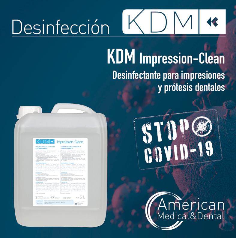 desinfección de impresiones dentales