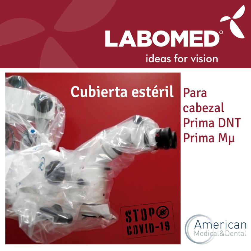 Protección para microscopios LABOMED-cubierta estéril
