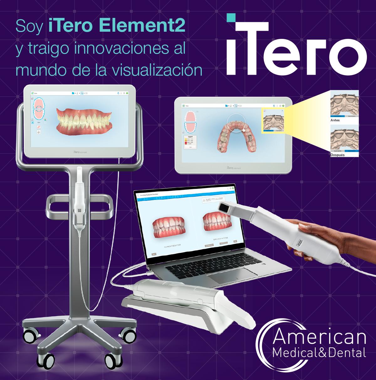 escáner intraoral itero element 2