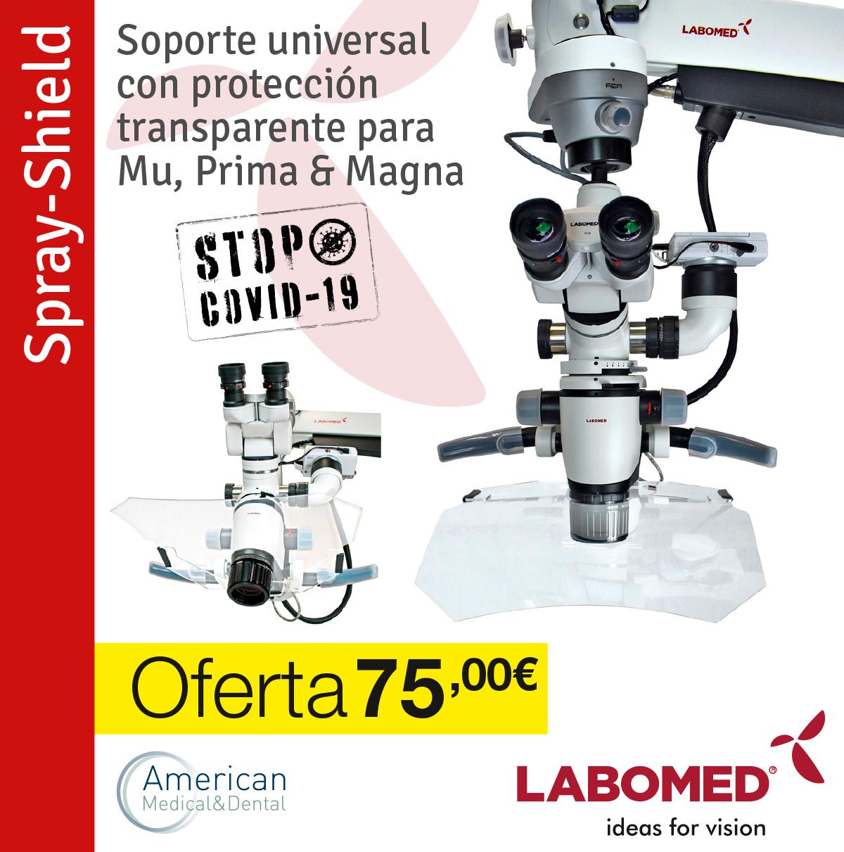 cubierta para microscopio