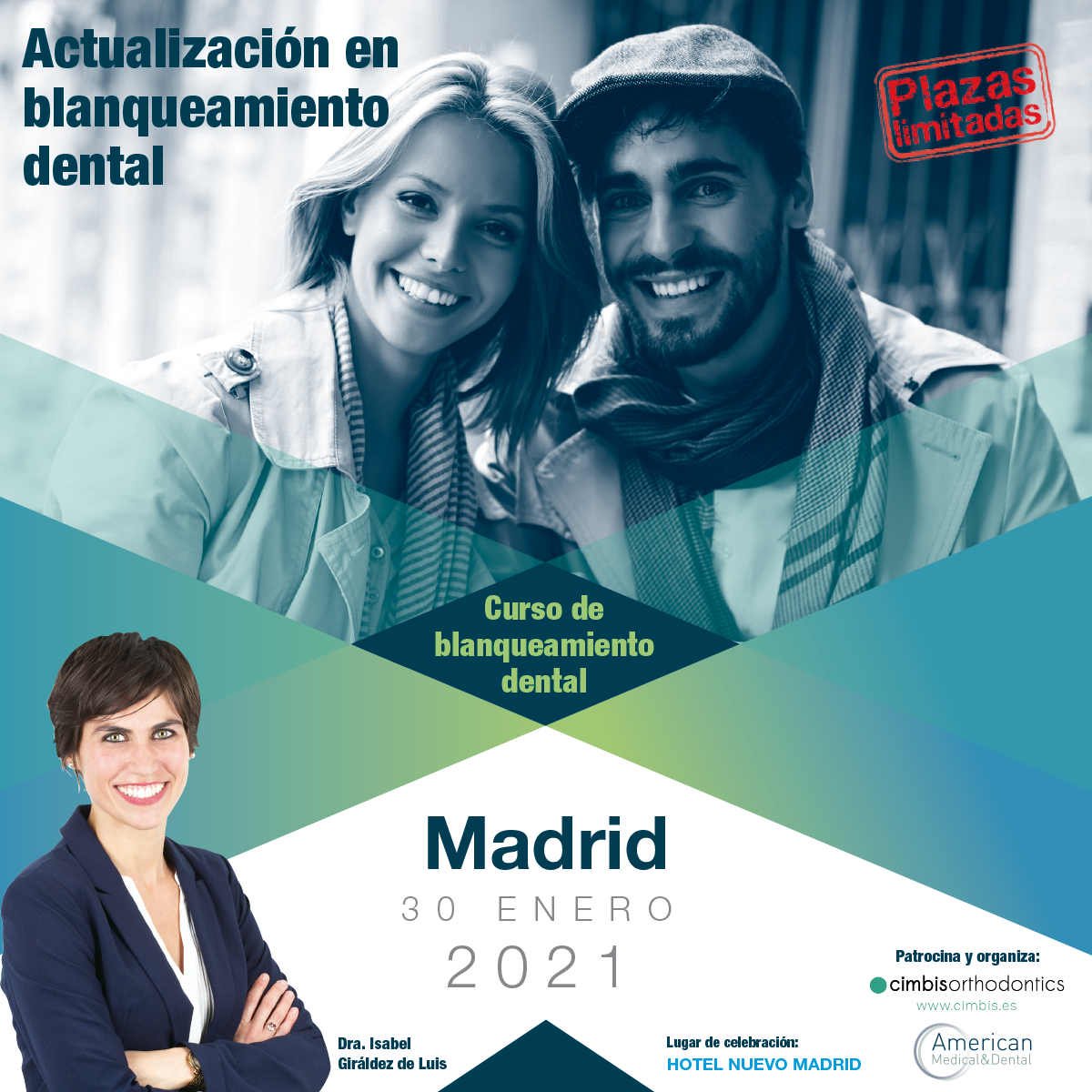 Curso Blanqueamiento Dental Madrid