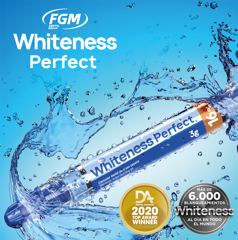 blanqueamiento dental para casa whiteness perfect